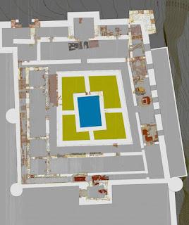 Planta arqueológica del Alcázar Real de Guadalajara [Fuente: LAAC]
