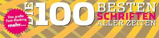 Las 100 mejores tipografías de todos los tiempos