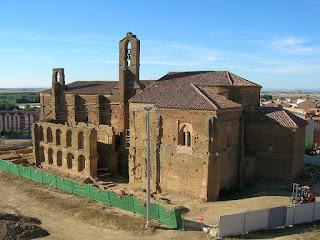Santuario de la Virgen Peregrina, en Sahagún [Foto: José Antonio Gil Martínez]