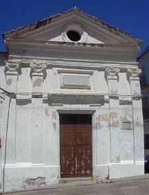 Ermita de San Pedro, obra de Miguel de Olivares en Ubrique [Foto: Papeles de Historia]