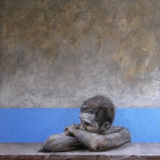 'Al borde de la piscina', de Alfonso Buendía