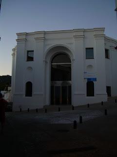Fachada del Centro de Interpretación de la Historia de Ubrique [Foto: Alejandro Pérez Ordóñez]