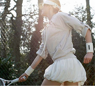 Stella McCartney tennis dress @theotherchic