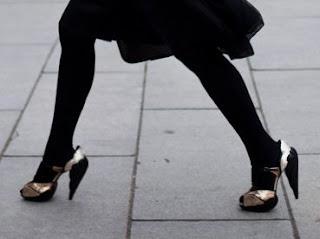 fabulous black heels @ theotherchic
