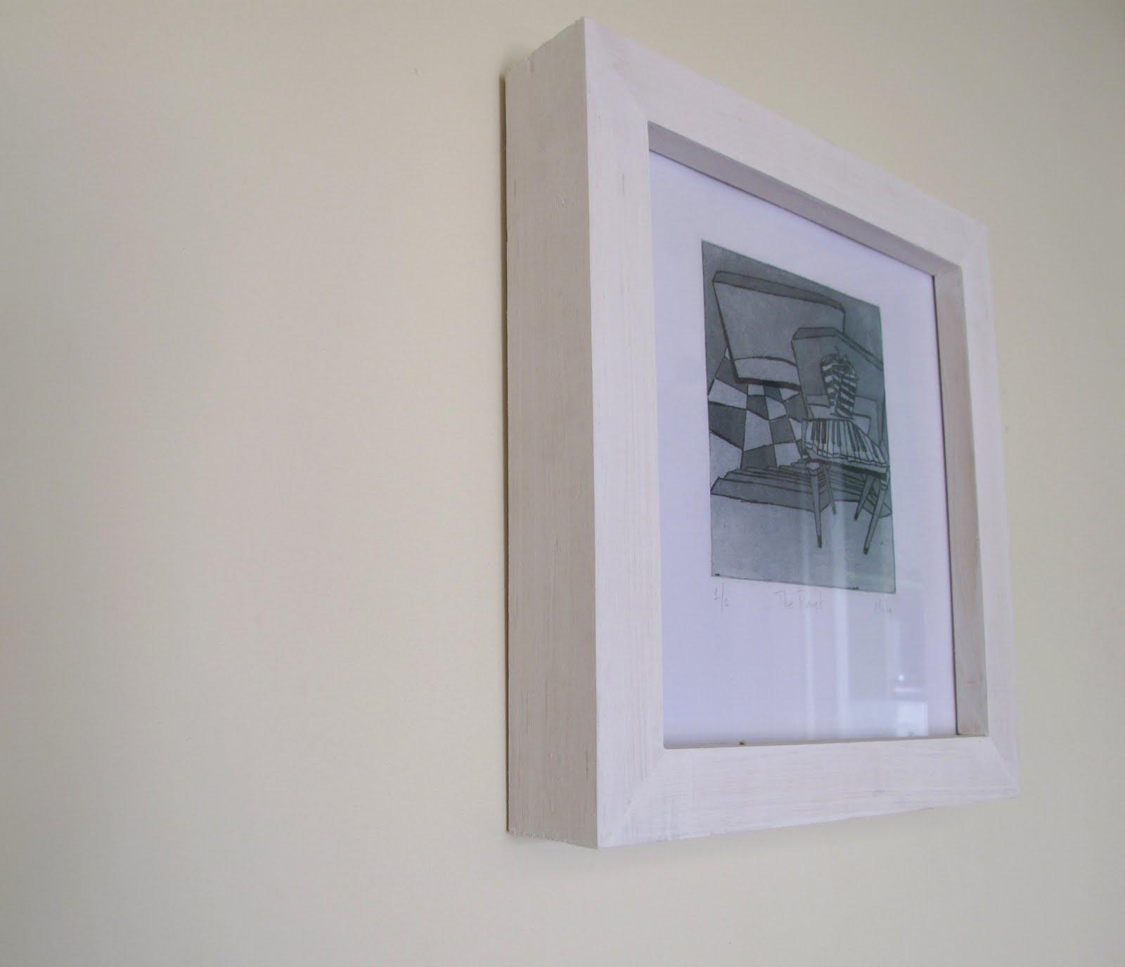 Taller de construcción de Marcos: Grabado-The Pianet-Mota