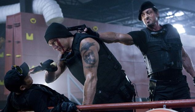If ever a movie oozed machismo, it's Sylvester Stallone's The Expendables.