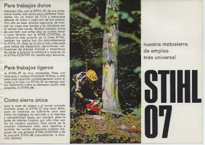 Stihl 07 chainsaw