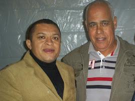 CANTOR POP GOSPEL JOSE ANTÔNIO COM O GRANDE NOME DA MUSICA GOSPEL MATTOS NASCIMENTO EM SP.