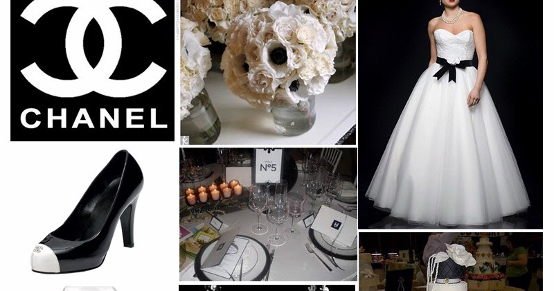 The Boutique Chanel Inspired Theme For Weddings Parties