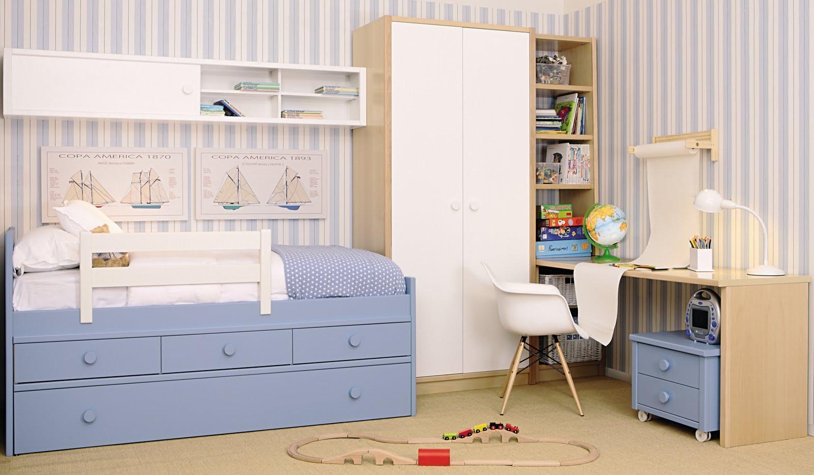 Dormitorios mediterraneo asoral - Medidas camas infantiles ...