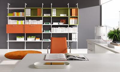 Habitaciones de estudio y trabajo despachos - Despachos modernos ...