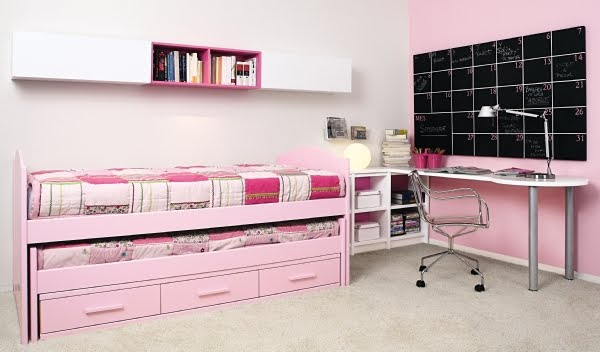Camas dobles y triples para dormitorios juveniles e infantiles for Camas gemelas juveniles
