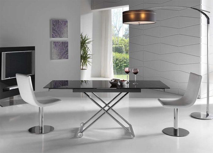 Mesas de comedor mesas de centro ramiro tarazona en xikara - Mesa centro convertible en mesa comedor ...