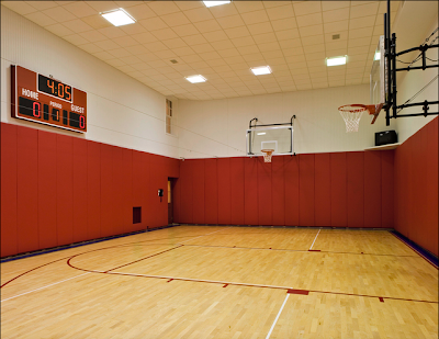 Luxury homes estates new york state living for Free inside basketball courts