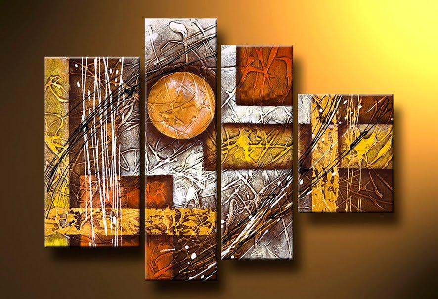 Pintura Artesanal: Cuadros Minimalistas