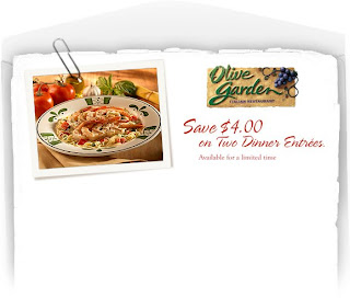 Olive Garden Coupons Printable July 2011