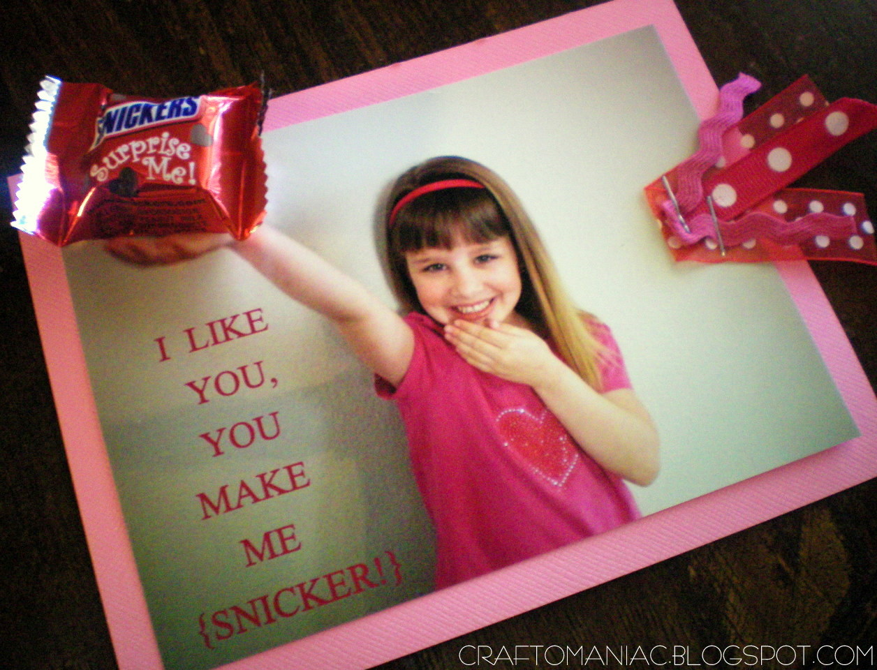 hand made VALENTINES- from the Miss Priss - Craft-O-Maniac