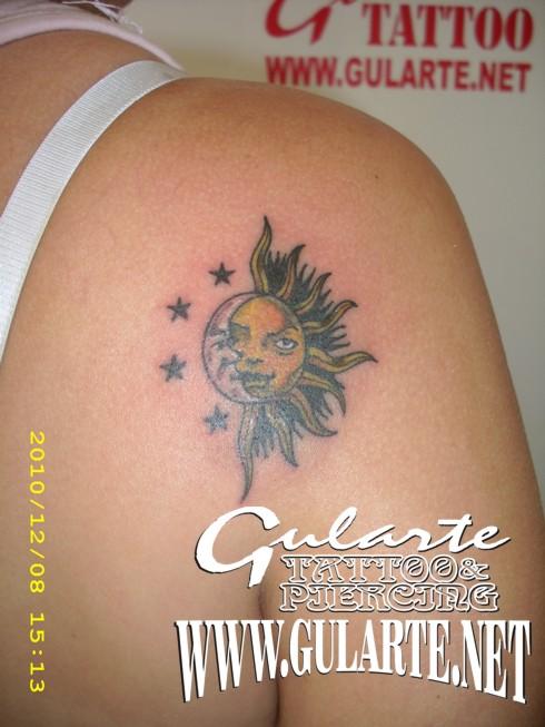 tattoo estrellas. TATTOO Rosana