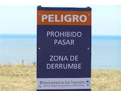Erosión en Mar del Plata
