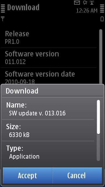 nokia n8 latest software update free download