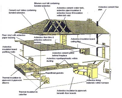 asbestos in buildings types and health effects History of asbestos health risks  it was commonly used in the construction of homes and buildings exposure to asbestos fibres can  this type of asbestos is.