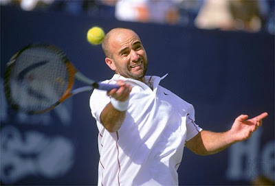 Andre Agassi Tennis Gallery Photos