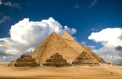 The Great Pyramids in Giza Photo