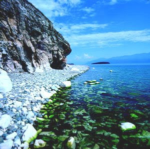 Lake Baikal in Russia Photo