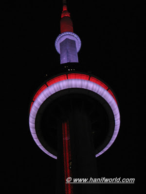 The CN Tower at Night