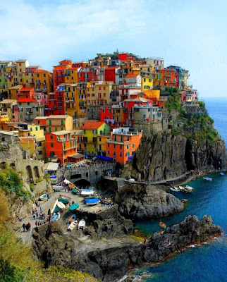 Beautiful Town in Italy Photo