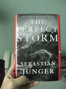 a review of the perfect storm by sebastian junger Report abuse transcript of the perfect storm by:sebastian junger theme mother nature is a powerful force the various fishing boats are at the mercy of the storm one wave spun the boat around while the other lifted it end over endpg 138 by the late hours of oct28 the sea was high.