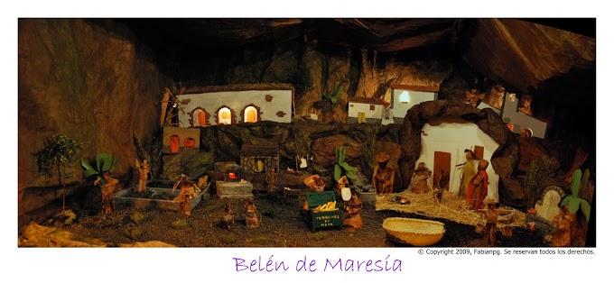 Inauguración del Belén de Maresía