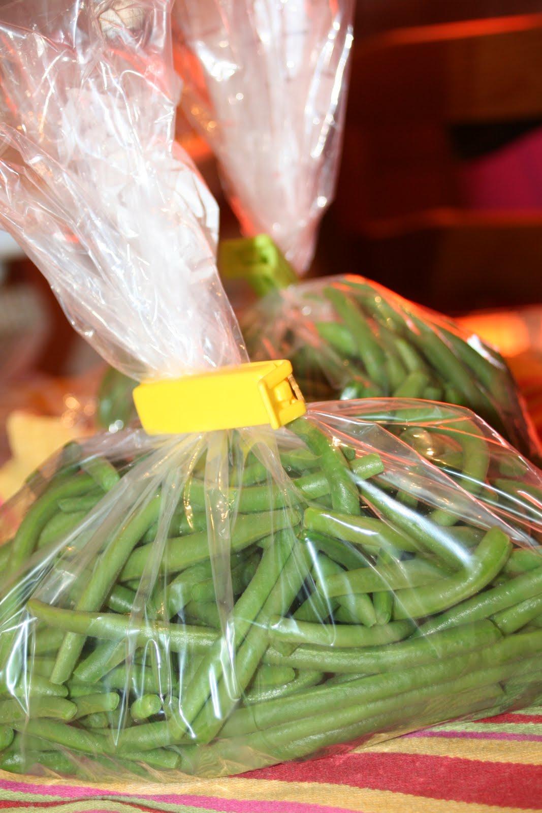 Les trouvailles de cacaille congeler des haricots verts - Cuisiner haricots verts ...