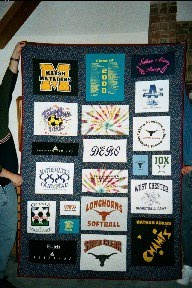 T-Shirt Quilt for a customer