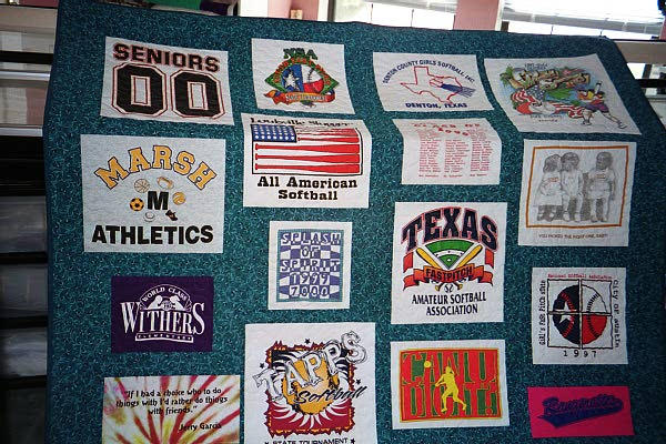 Another t-shirt quilt