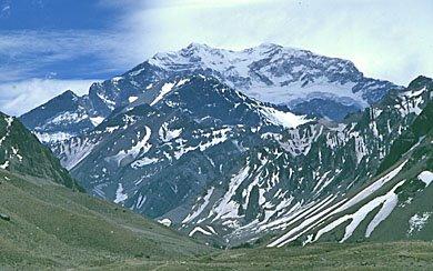 La montaña más alta de Argentina.