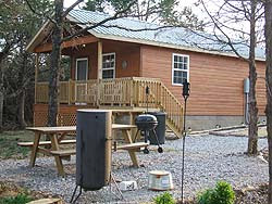 Oklahoma cabins, Lake Keystone cabins, Lake Keystone lodging, Bear's Glen Cabins