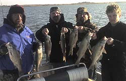Lake Sooner Oklahoma fishing report from fishing guide David Clark of Fish On! Guide Service