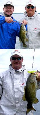 Bass fishing at Lake Tenkiller Oklahoma with fishing guide Rocky Thomas Jr.