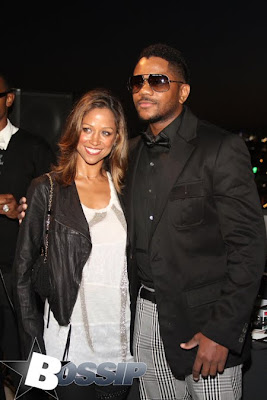 Stacey Dash and Hosea Chanchez
