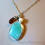 turquoise jewelry, handmade necklaces, hand made sterling jewelry, silver necklaces, wrapped jewelry