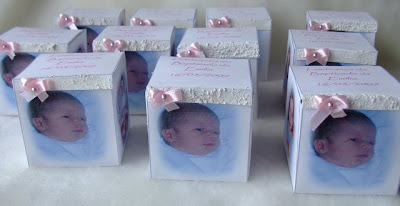 Baby Girl Christening Favors on Baptism Souvenirs