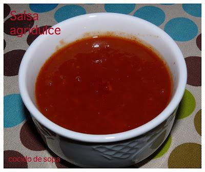 Salsa agridulce cocido de sopa - Salsa para bogavante cocido ...