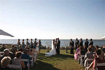 Beach wedding, seaside wedding, market umbrellas, Aqua Bay Creek, Isha Foss Events