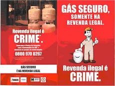 REVENDA ILEGAL DE GÁS É CRIME!