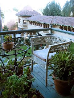 castle green balcony