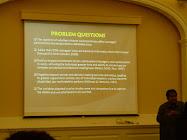 Presenting Paper at Harvard University, MA
