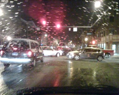 people failing to obey the traffic laws caused traffic to worsen in the city; a five minute drive turned into an hour of inching.
