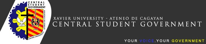 Xavier University - Ateneo de Cagayan Central Student Government
