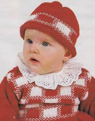 Красная вязаная шапочка